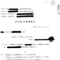 【367】損害賠償請求事件訴訟裁判の経緯。