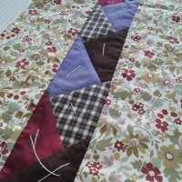 18㎝巾のポーチ作り(#^o^#)🎵