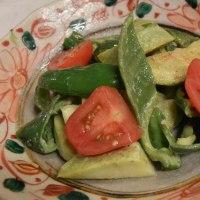 野菜尽くしの今日の料理