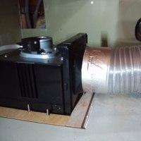 今日2番目は、引き続き廿日市市での浴室換気扇取り替え工事でした~(^^♪