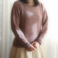カシミヤのセーター完成