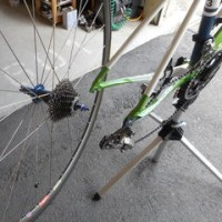 ロードバイク スプロケットの交換方法 その1
