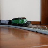【お座敷運転 (5):BN GP-35】 模型鉄道 HO 2017.2.19