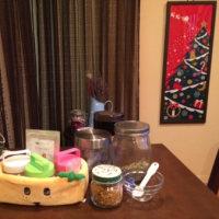 クリスマスの香りに包まれて