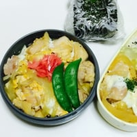親子丼弁当とひとみニンジン