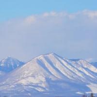 今日も山が綺麗