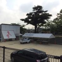 前田祇園山笠、カズラとり、棒締めがありました。
