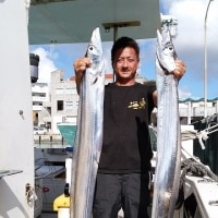 遊漁船真生丸沖縄県、太刀魚釣り
