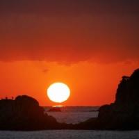 夕日狙いは高浜海岸から(12月07日)