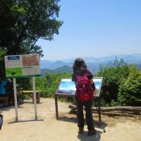 3 牛田山(261m:東区)~二葉山縦走登山  「牛田山」で昼食に