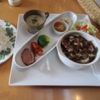 ポークヒレ肉のストロガノフセット@M's Deli & Cafe(泉が丘)