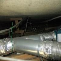 換気扇つけると天井から水漏れ