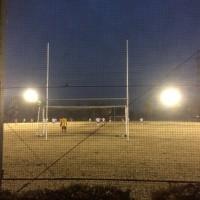 殿のサッカー試合