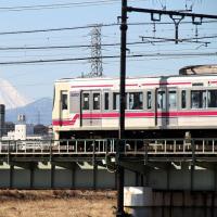 富士と電車