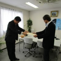 NTTから感謝状をいただきました! (設備110番情報提供)
