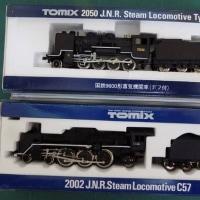 TOMIXの古い蒸気機関車2題