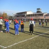 12月9日(金)あいさつ活動 ・ ドッジビー練習 ・ 手洗いチェック ・ 委員会