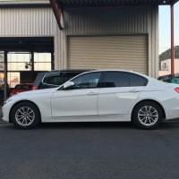 BMW320d足回りのチューニングです。