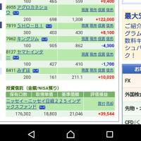 こうちゃんの行動 2/24の株の結果