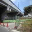 尻手黒川道路の工事状況(2010年5月9日)