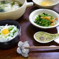 回鍋肉と雲呑スープ
