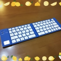 ワイヤレスキーボード。