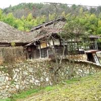 日本茅葺紀行 NO,356 広島県熊野町 石垣の民家