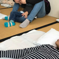 Kちゃんの闘病に家族が団結、基本指圧で尿意や便意も改善に向かう