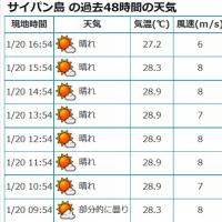 サイパン15日目 メローな優しい風 天気は抜群
