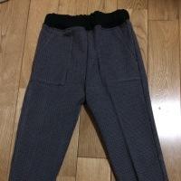 12月末に作ったズボン。
