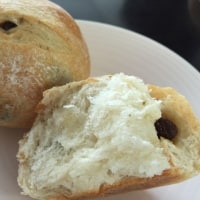レーズン種でパンを焼く