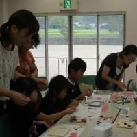 『ミニチュア粘土教室開催』