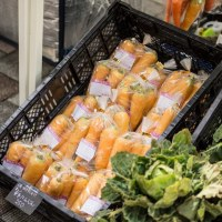 第10回無農薬農家の野菜の直売会「駅前みなはし横丁」開催☆