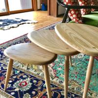 アコールの3つ組みテーブル
