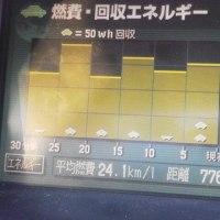燃費が期待以上の良さに高速に乗れなくなりました( 笑)