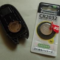 リモコン電池交換 CR2032