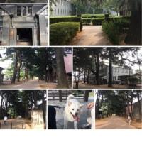 松本城ー旧開智学校校舎ーあがたの森
