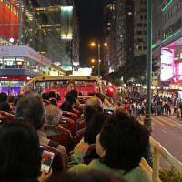 香港 オープントップバス乗車 5