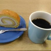ルタオのロールケーキ&コーヒー