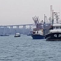 漁業者らがVarna港を封鎖    ブルガリア