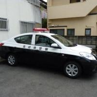 長崎県のパトカーにはPOLICE表示がなかった