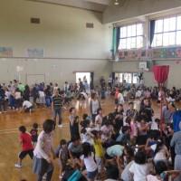 第3回加治木小校区運動会(2017)・・・姶良市加治木小学校体育館