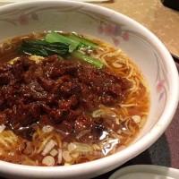 【限定】ルーロー麺を頂きました。 at 中国膳 龍宮