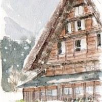 雪の白川郷(4)