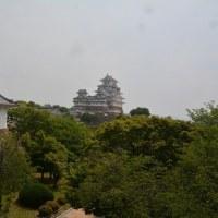 改修後の姫路城