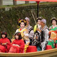 花魁道中(蔵の街・栃木市)