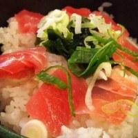 今日限定 大久保 まんぷく食堂 マグロ丼 500円食べ放題