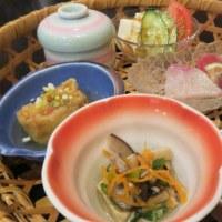 伊倉本町の馳走家「池田」さんのお昼メニューの会席「花籠膳」~