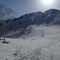 芦別岳(1726m)~本谷から