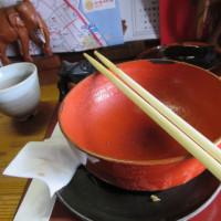 福山市:鞆の浦観光『 茶房 とうろどう』でおぜんざい。